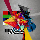 Bright abstract illustration Stock Photography
