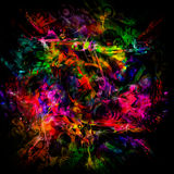 Bright abstract illustration Stock Photo