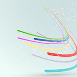 Bright abstract lines streaming background Royalty Free Stock Photos