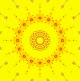 Bright abstract yellow background Royalty Free Stock Photo