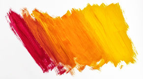 Bright abstract painting painted with acrylic paints Royalty Free Stock Photos