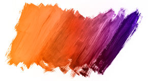 Bright abstract painting painted with acrylic paints Stock Photo