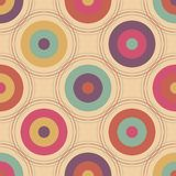 Bright abstract pattern with circles. Abstract design vector illustration