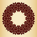 Bright abstract pattern, mandala. Royalty Free Stock Photo
