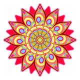 Bright abstract pattern, mandala. Royalty Free Stock Photography