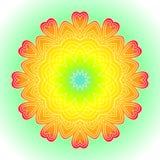 Bright abstract pattern, mandala. Stock Images