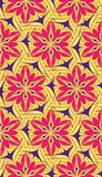 Bright abstract pattern pink yellow Stock Photos