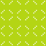 Bright Abstract Pattern with Stars. In green tones Stock Photo