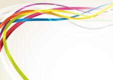 Bright abstract rainbow swoosh lines background. Vector illustration vector illustration