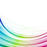 Bright abstract rainbow transparent background Stock Photo