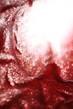 Abstract red glitter background Stock Image