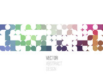 Bright abstract retro design. Vector background. Bright abstract retro design. Mosaic pattern. Vector background Stock Photo