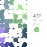 Bright abstract retro design. Vector background Royalty Free Stock Photo