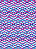Bright abstract seamless pattern with interweave lines. Vector p Royalty Free Stock Photos