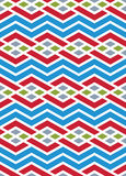 Bright abstract seamless pattern with interweave lines. Vector p Royalty Free Stock Image
