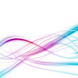 Bright abstract speed lines background Stock Photography