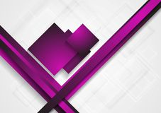 Bright abstract tech design Royalty Free Stock Photos