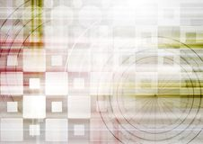 Bright abstract tech vector design Royalty Free Stock Images