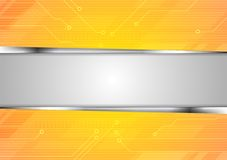 Bright abstract technology background Stock Images