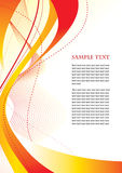 Bright abstract template Royalty Free Stock Images