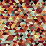 Bright abstract triangles background Stock Image