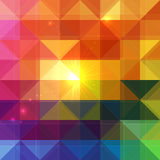 Bright abstract triangles vector background Royalty Free Stock Image