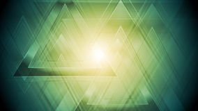 Bright abstract triangles video animation stock video