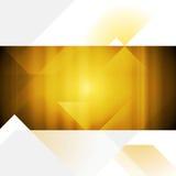 Bright abstract vector flyer design. Tech style Stock Photo