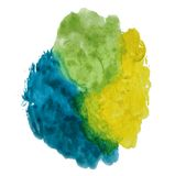 Bright abstract watercolor background Stock Photo