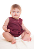 Bright adorable baby Royalty Free Stock Image
