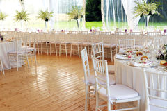 Bright airy event venue or salon Royalty Free Stock Photos