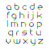 Bright alphabet Royalty Free Stock Image