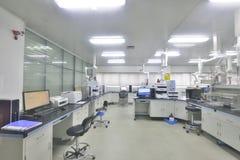 Bright analysis laboratory! Stock Photo