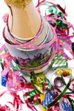 Bright And Colorful Party Scene Stock Photo