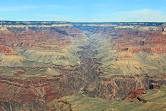 Bright Angel Canyon as a part of Grand Canyon. Landscape of Bright Angel Canyon as a part of Grand Canyon, Arizona stock image