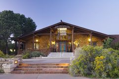 Bright Angel Lodge Stock Photography