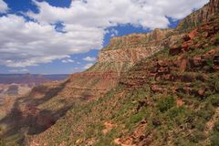 Bright Angel trail Royalty Free Stock Photos