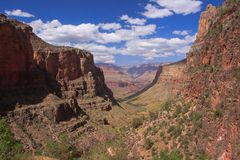 Bright Angel trail Stock Images