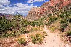 Bright Angel trail Royalty Free Stock Photo