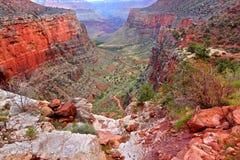 Bright Angel Trail Grand Canyon Stock Photo