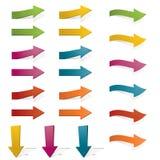 Bright arrows Stock Photos