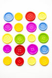 Bright assorted buttons, Stock Photography