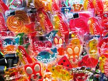 Bright assorted candies Stock Photography