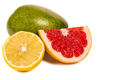 Bright assorted fruits royalty free stock photography
