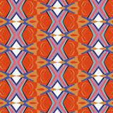 Bright, attention-grabbing pattern in the sixties style Royalty Free Stock Photos