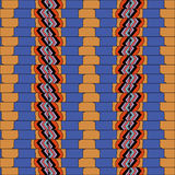 Bright, attention-grabbing pattern in the sixties style. Flashy color Royalty Free Stock Photos