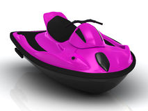 Bright attractive watercraft Royalty Free Stock Images