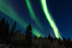 Bright Aurora borealis Northern Lights Stock Photos