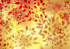 Bright autumn abstract background Royalty Free Stock Photography