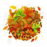 Bright Autumn Background. Royalty Free Stock Photography